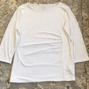 Talbots white blouse
